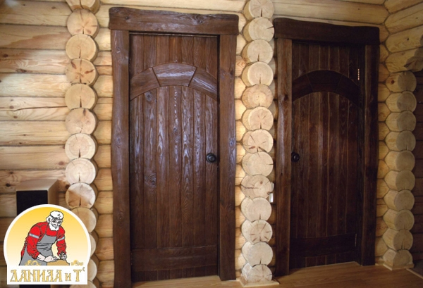 Деревянные двери входные своими руками